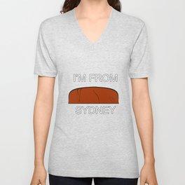 I'm from Sydney Unisex V-Neck