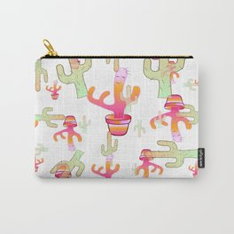 Cactus Family Day Carry-All Pouch