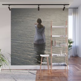 Dreaming in the water Wall Mural