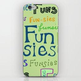 Funsies iPhone Skin