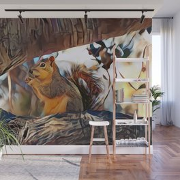 Tree top scoundrel Wall Mural