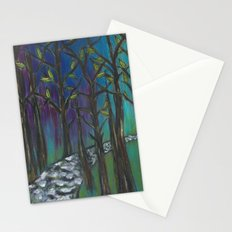 Illuminated Path Stationery Cards