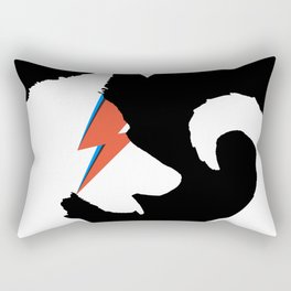 Bow (Wow) Down to Bowie Rectangular Pillow