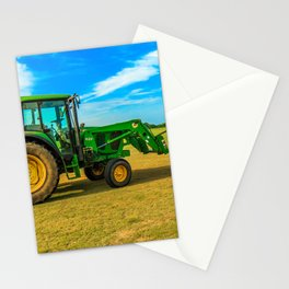 Tractor Side View Stationery Cards
