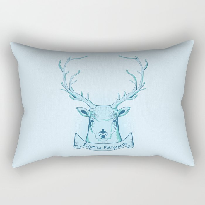 Expecto Patronum- Harry Potter Rectangular Pillow
