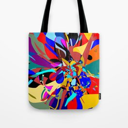 Flora Abstract Tote Bag