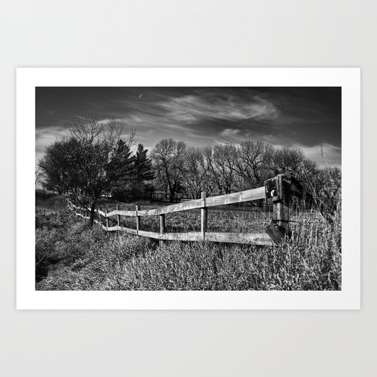 The Country Field Art Print