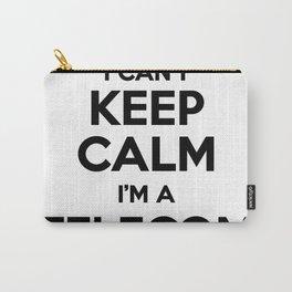 I cant keep calm I am a TELECOM Carry-All Pouch