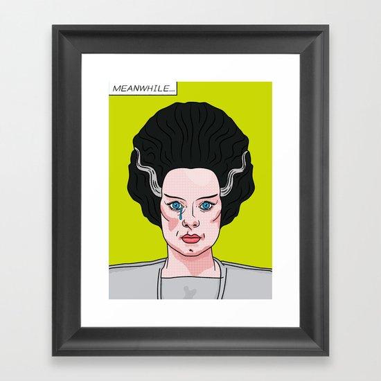 The Bride of Lichtenstein Framed Art Print
