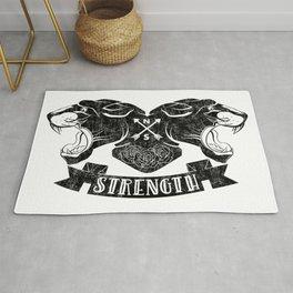 Panther Strength Rug
