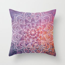 Large Mandala Throw Pillow
