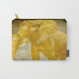 The elephant under a sandstorm Carry-All Pouch