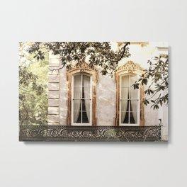 Savannah Window Decadence Metal Print