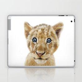 Baby lion cub animal Laptop & iPad Skin