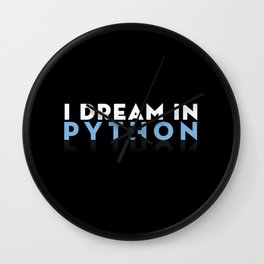 I dream in Python for Python Programmers Wall Clock