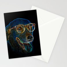 Geek Dog Stationery Cards