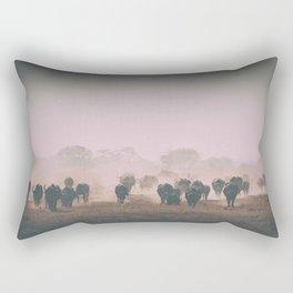 African buffalos Rectangular Pillow