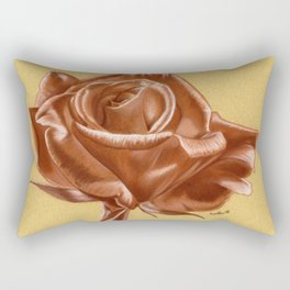 Sanguine Rose Rectangular Pillow
