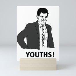 Youths! Mini Art Print