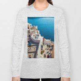 Oia,Santorini Long Sleeve T-shirt