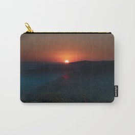Sunset over African Hills Carry-All Pouch