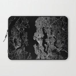 Seattle map Laptop Sleeve