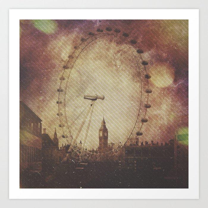 Big Ben in the Eye of London Art Print