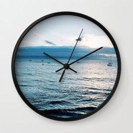 Day At Sea Wall Clock