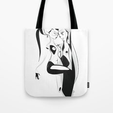 Dancing in the dark - Emilie Record Tote Bag