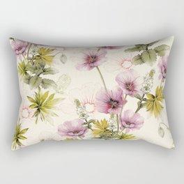Geranium & Gardenmint Rectangular Pillow