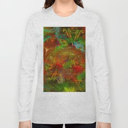 Swirling Stew (abstract, psychedelic, visionary) Long Sleeve T-shirt