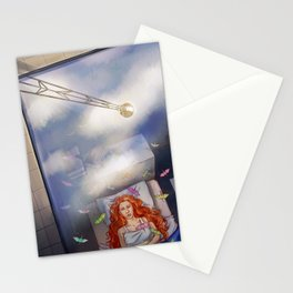 Greta Clouds Stationery Cards