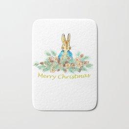 Peter Rabbit Christmas Bath Mat