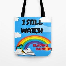 Reading Rainbow Tote Bag
