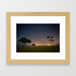 Kualoa Regional Park Framed Art Print