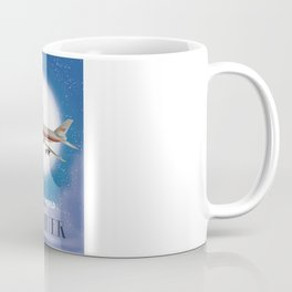 Travel the world by Airliner Coffee Mug