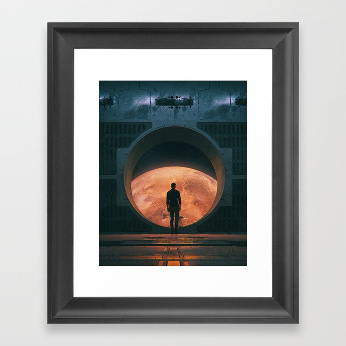 NEW HOME (everyday 03.18.18) Framed Art Print by beeple | Society6