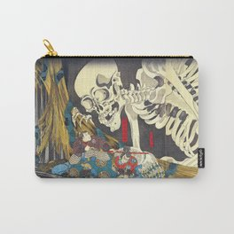 Takiyasha the Witch and the Skeleton Specter- Utagawa Kuniyoshi Carry-All Pouch