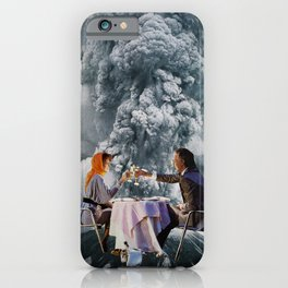 Explosive Dinner iPhone Case