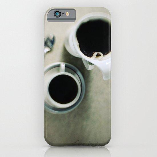 coffee.black iPhone & iPod Case