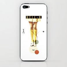 Cut The (...) | Collage iPhone & iPod Skin