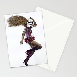 Stormtrooper girl Stationery Cards