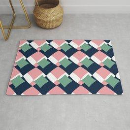 Geometric pattern design Rug