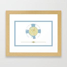 Pinapple Island Framed Art Print
