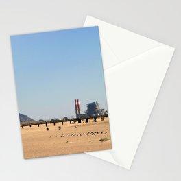 Power Station Beach Stationery Cards