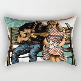 avett brothers album 2020 ansel10 Rectangular Pillow