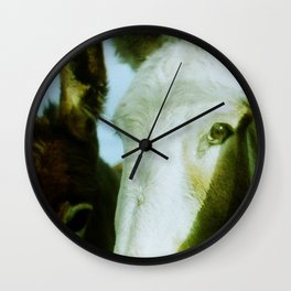 Irish Field Horses Wall Clock