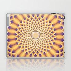 LOTUS FLOWER MANDALA salmon violet Laptop & iPad Skin