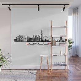 London skyline city #london Wall Mural