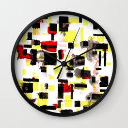 modulor windows Wall Clock